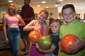 Family Ten-Pin Bowling