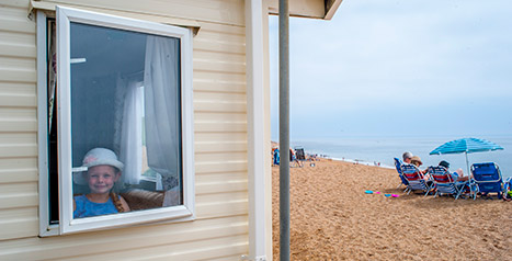 Freshwater Beach Caravan Holiday Park In Dorset