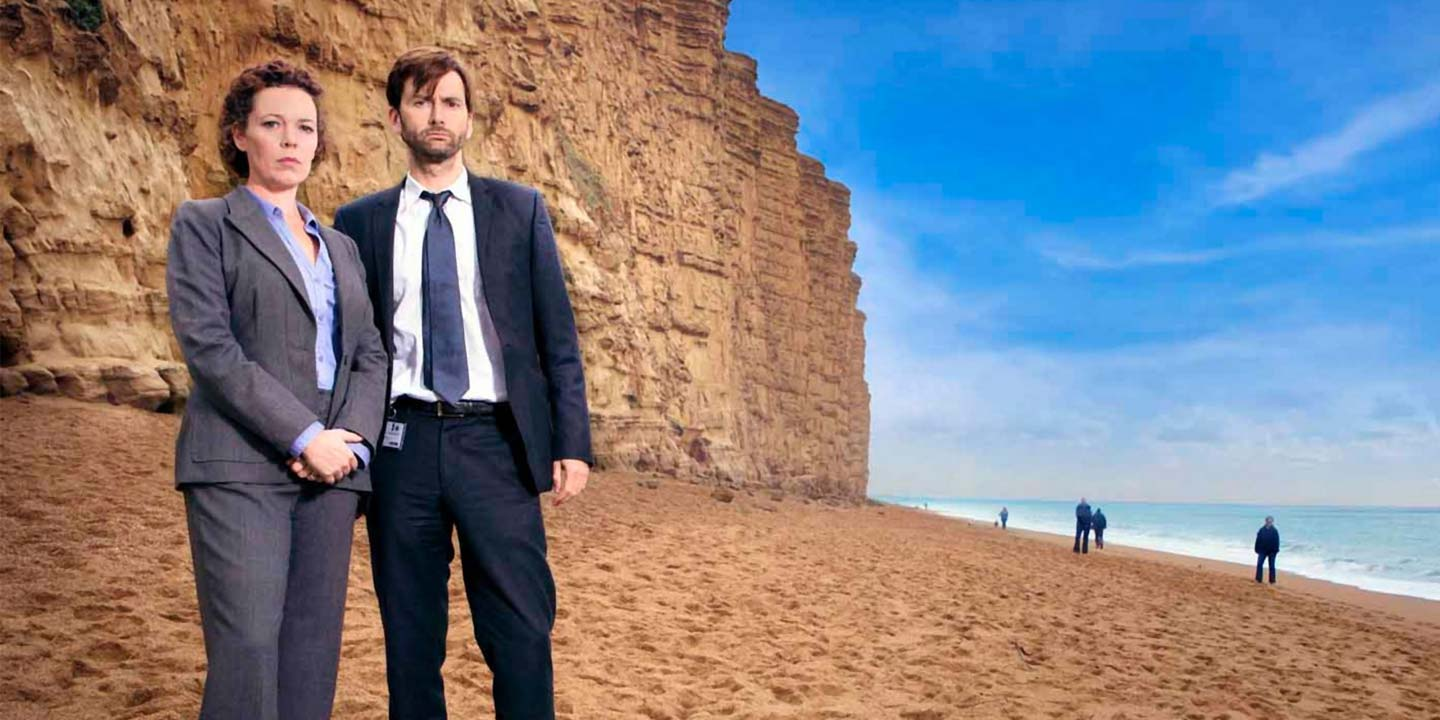broadchurch filming location freshwater beach. Black Bedroom Furniture Sets. Home Design Ideas
