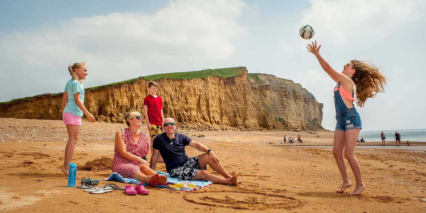 Dorset holiday park with its own private beach